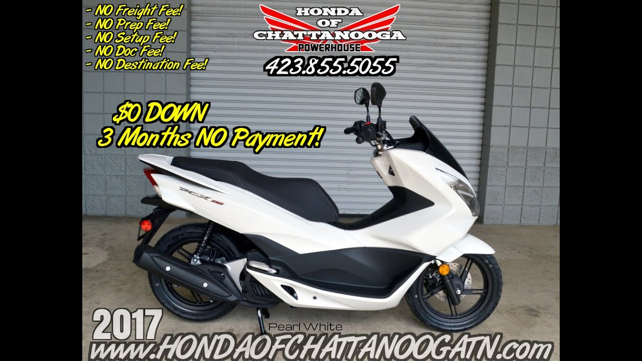 2017 Honda PCX150 Scooter Review of Specs - White PCX @ Honda of ...