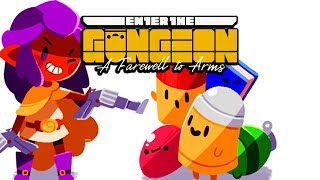 ВИСКАС, ГАНЖЕН, ДВА КОТА • Enter the Gungeon: A Farewell to Arms