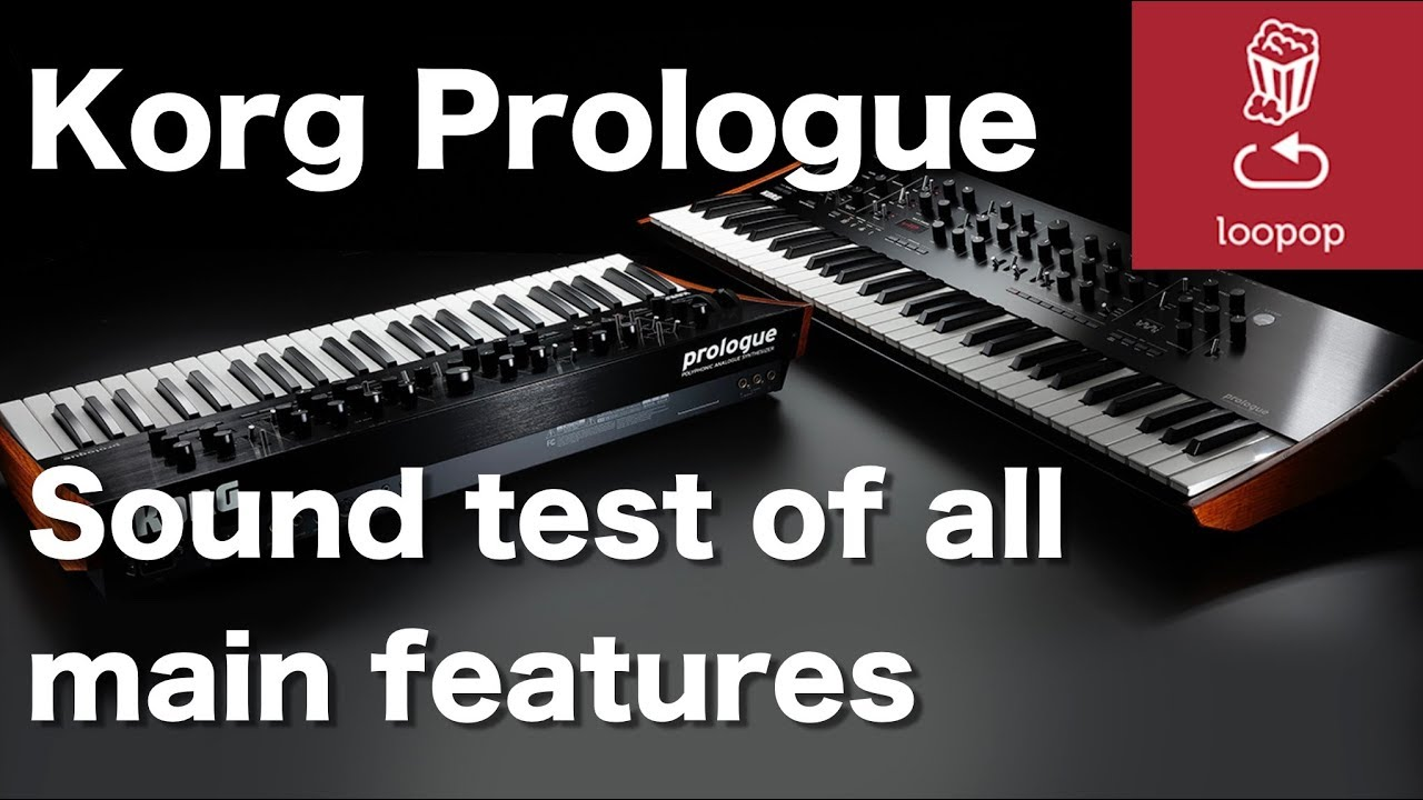 Korg Prologue Synthesizer In-Depth Demo – Synthtopia
