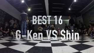 Pop Generation Popping Battle Vol.1--Best 16--Gken VS Shin