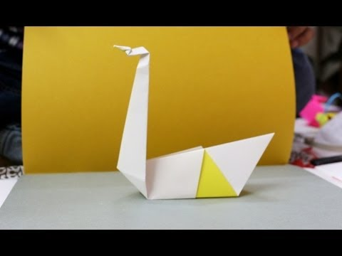 How To Make A Paper Duck Origami Duck Tutorial Youtube