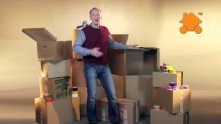 Обзор картонных коробок для переезда и хранения вещей