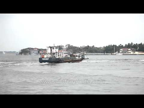 Cochin Ferry Service from Vypeen Island