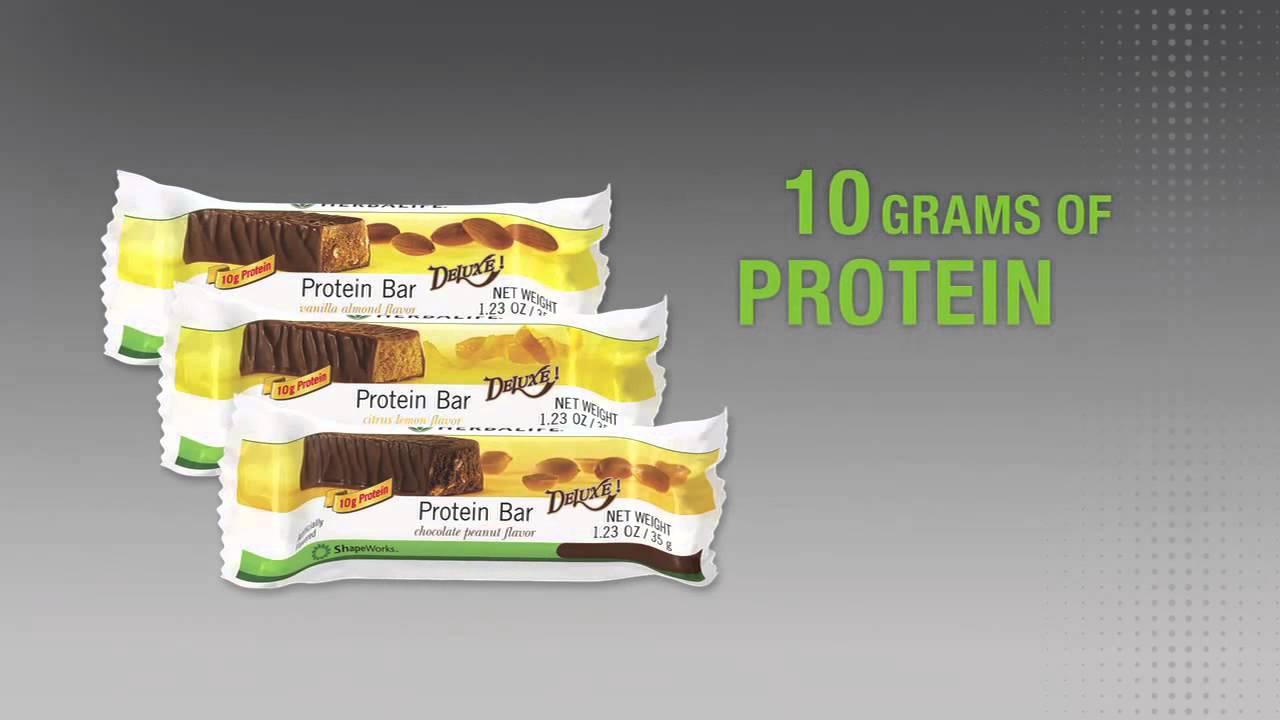 Herbalife Protein Bar - YouTube