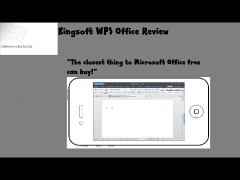 Kingsoft WPS Office Review:   The Closest Thing To Microsoft Office Free Can Buy