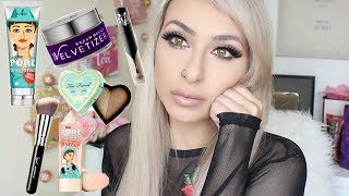 Full Face of First Impressions testing NEW Makeup!   DramaticMAC