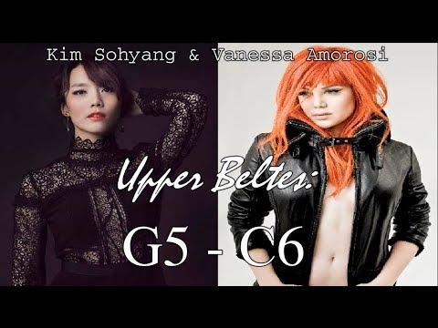 소향 Sohyang & Vanessa Amorosi: Queens of High Belting (G5-C6)