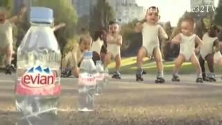 Evian Babies Dance Indian Version (me sharabi) HIindi