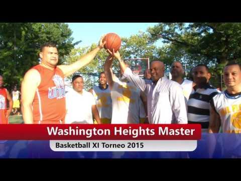 Torneo Basketball Washington Heights Master XI Torneo 2015