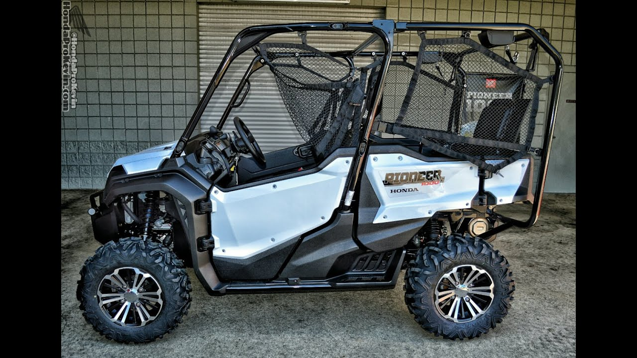 2016 honda pioneer 1000 5 deluxe start up walk around. Black Bedroom Furniture Sets. Home Design Ideas