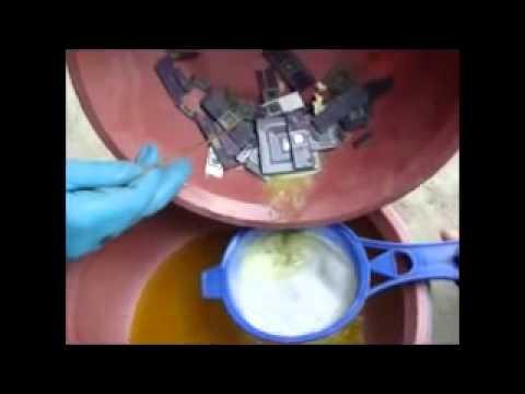 aqua regia gold refining instructions