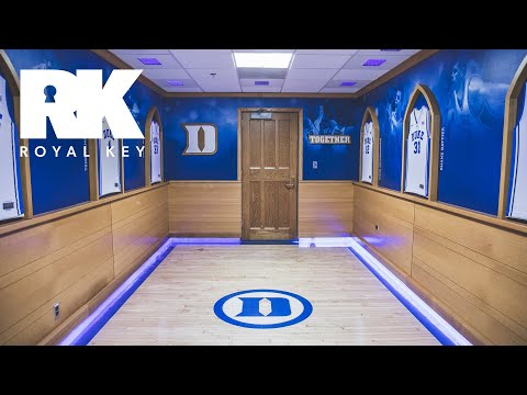 We Toured The DUKE BLUE DEVILS' BASKETBALL Facility | Royal Key | Coiski