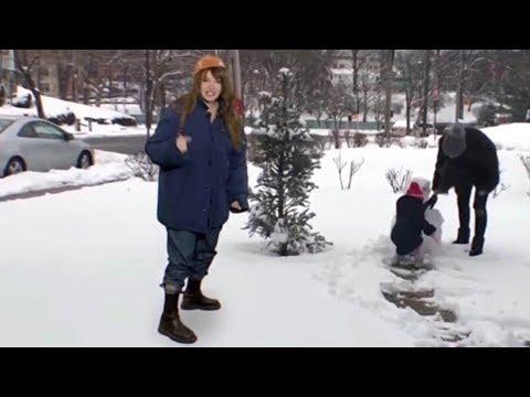 Интернет-серфинг - Удивительные снежные объекты Утро России Эфир от 11.02.2020
