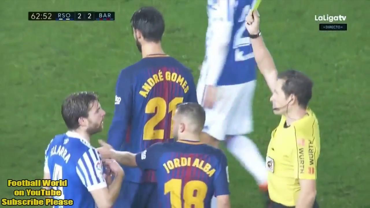 Real Sociedad vs Barcelona 2-4 Resumen Highlights Goles ...