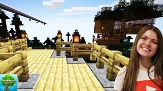 Minecraft Treehouse Tour / The Adventurers Gaming