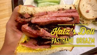 Katz's Delicatessen New York: Best Pastrami and Reuben Sandwich in the World!