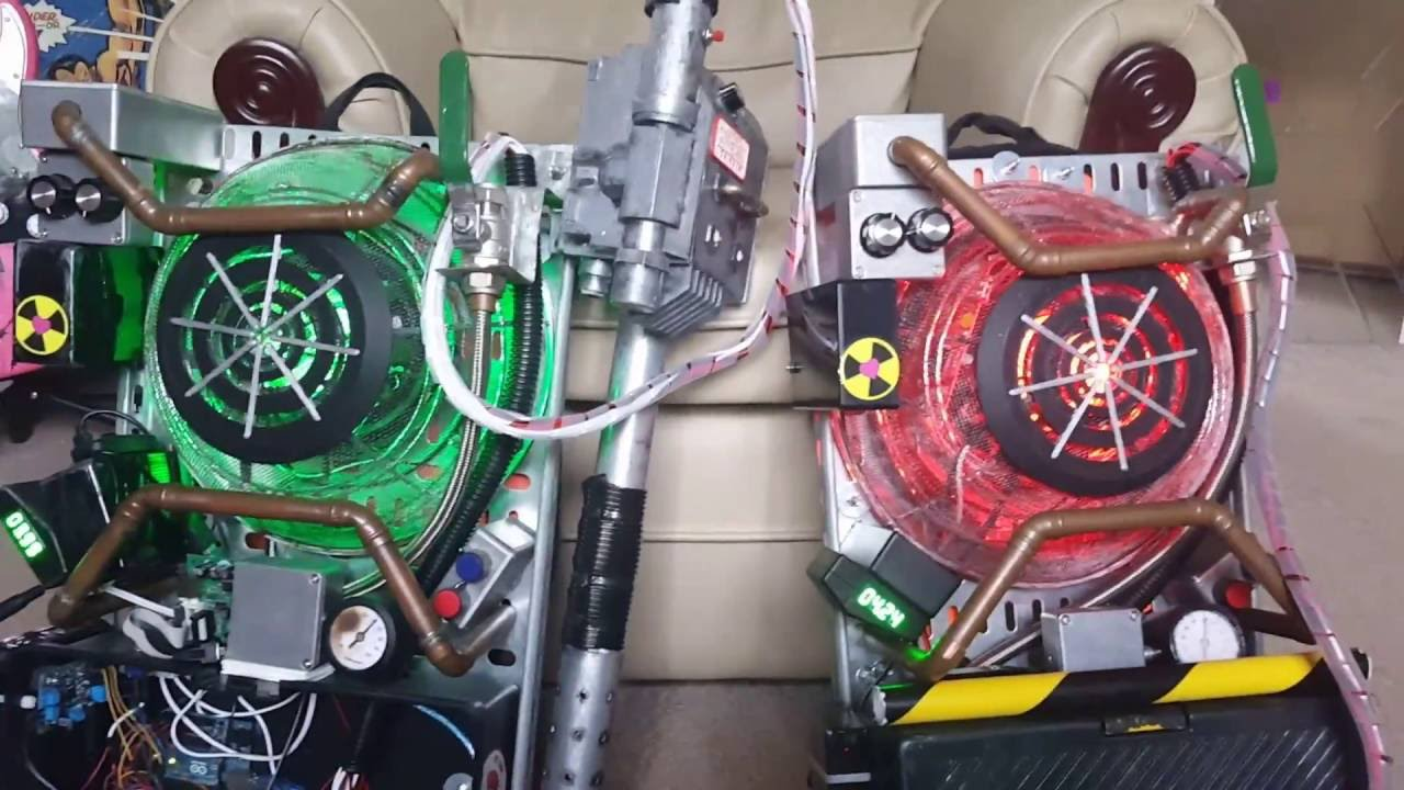 2016 Ghostbusters Reboot Proton Pack Replica Lights and ...