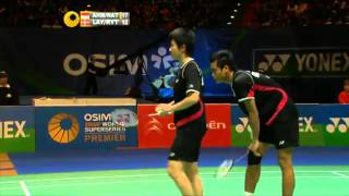 Video 2012 All England XD Finals Tontowi AHMAD Liliyana NATSIR vs  Thomas LAYBOURN Kamilla RYTTER JUHL download MP3, 3GP, MP4, WEBM, AVI, FLV Desember 2018