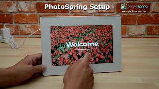 PhotoSpring Initial Setup Demo