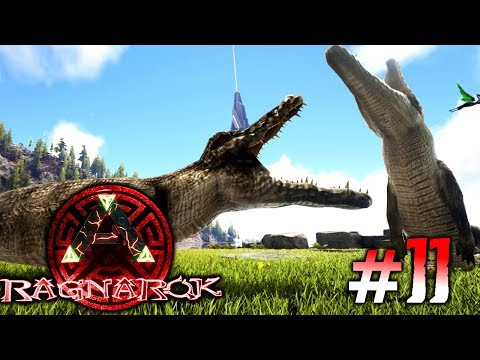ARK: Ragnarok #11 - Purussaurus zähmen & der Ceratosaurus Vergrößerungs-Bug 😂! | LP Ark Deutsch