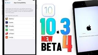 iOS 10.3 Beta 4 New Changes & Bug Fixes