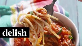 How To Make Roasted Marinara Sauce | Delish