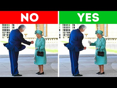 9 Things No One Can Do When Meeting the Queen