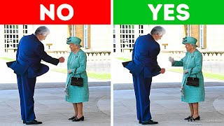 9 Things You Shouldn't Do When Meeting the Queen