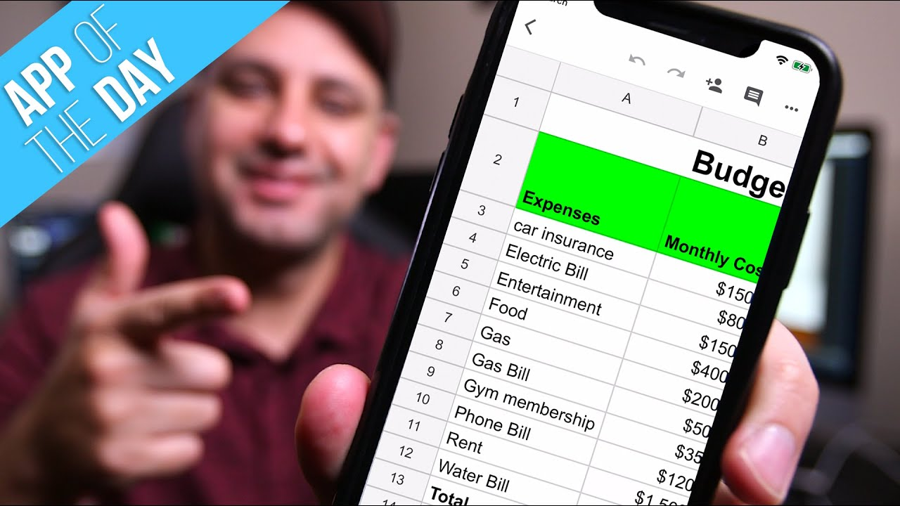 How to use Google Sheets Mobile App - Beginner's Guide