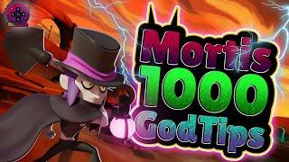 1000 ! Mortis ! God Tips ! Brawlstars ! Dr.mmm ! 莫堤斯 !神級攻略 ! 荒野亂鬥 !