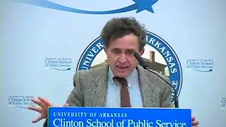 Hillel Levine at the Clinton School | 2010