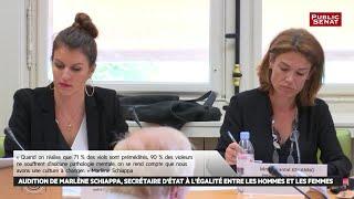 Audition de la secrétaire d'État à l'égalité entre les hommes et les femmes