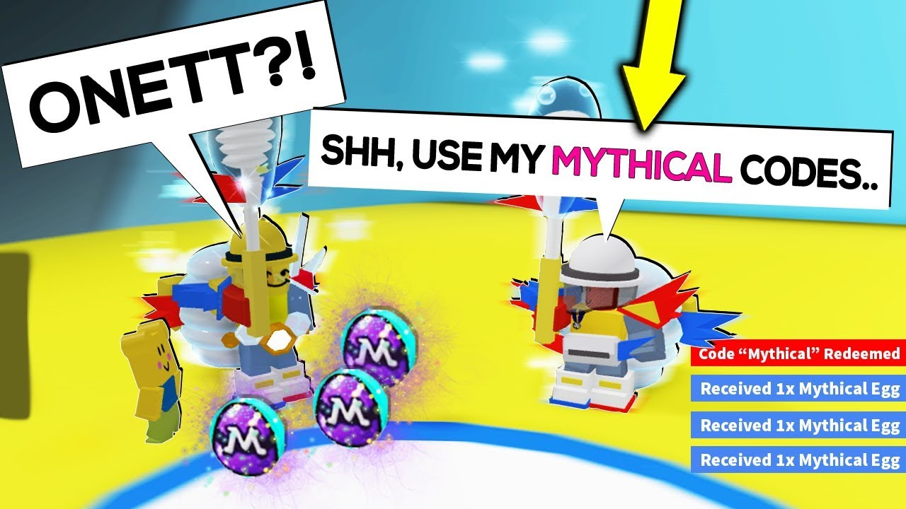 Onett S Secret Mythical Codes In Beesmas Update Roblox Bee