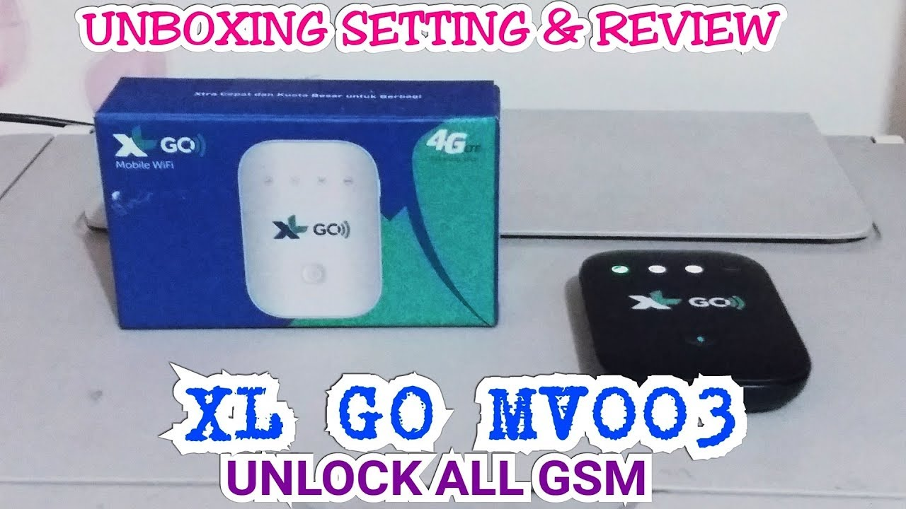 Unboxing MIFI XL GO Movimax MV003 Unlock Review All GSM Setting ...