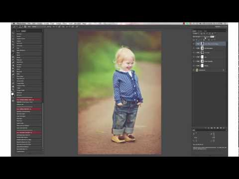 Luminosity Photoshop Actions by Paint the Moon Tutorial