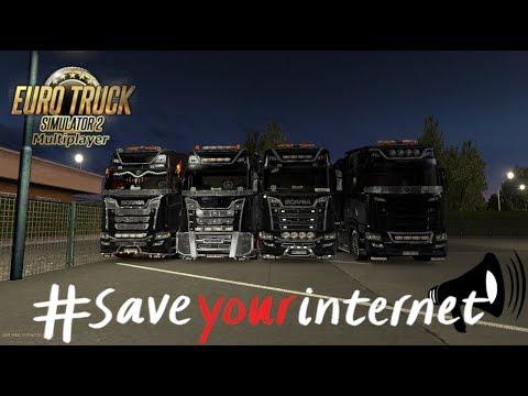 🔴ets2[eu1]-convoy-#wirsindkeinebots-#saveyourinternet-macht-mit!-[pc][mp][hd][ger]