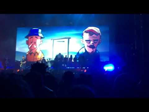 Gorillaz - Plastic Beach (Live in Miami - First in 7 years!)