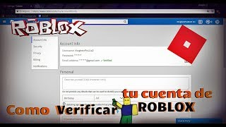 How to VERIFY your ROBLOX account and PIN it!!!