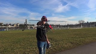 WALKERA V500D01 RC 3D HELICOPTER FLIGHT BY RCHELIJET