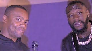 Deontay Wilder REACTS to 50/50 SPLIT OFFER! for Anthony Joshua fight from Eddie Hearn
