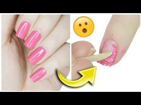 Removing Gel Polish WITHOUT Acetone?!