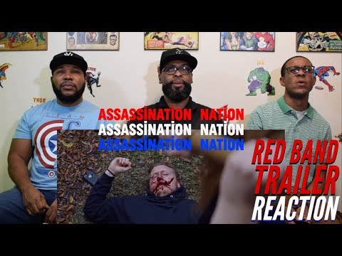 Assassination Nation Red Band Trailer Reaction