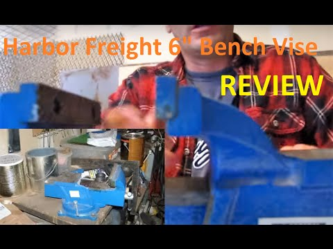 Harbor Freight Bench Vise Review Youtube