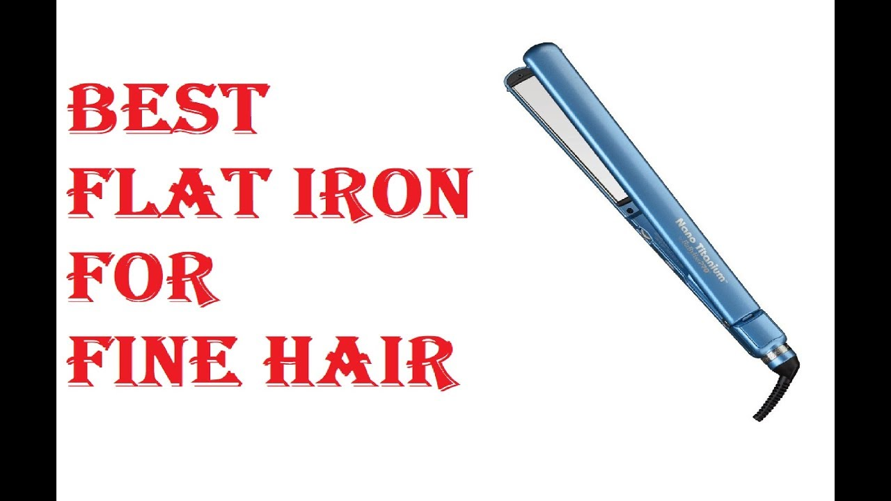Best Flat Iron For Fine Hair 2020 Best Flat Iron For Fine Hair 2019   YouTube