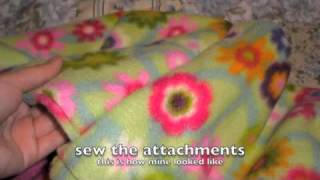 How To Sew A Pet Bed: Donut Shape