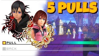 5 Pulls for Kairi/Xion Mercy Finally - KHUx F2P