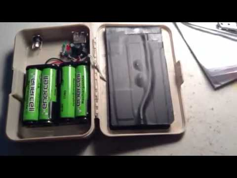 Wiring explanation for the DIY solar USB iPhone charger. - YouTube