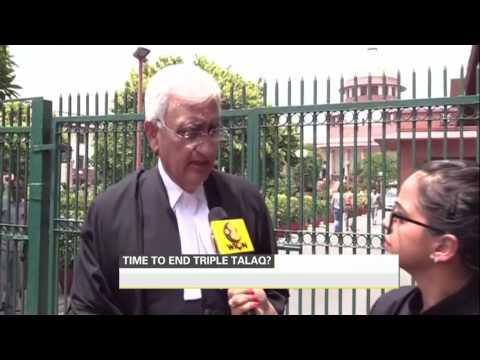 Salman Khurshid to help SC end triple talaq