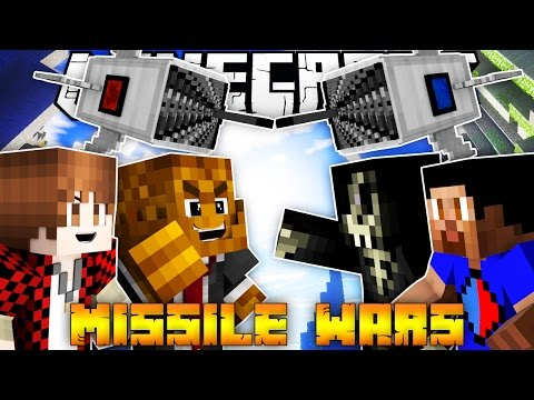 Minecraft MISSILE WARS 2 VS 2 w/ BajanCanadian, Vikkstar, and AcidicBlitzz