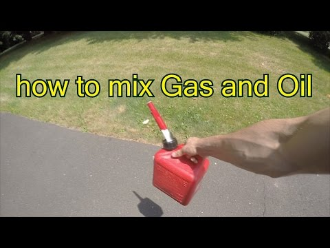 How To Mix Your Own 2 Stroke Gas Weed Eaters Leaf Blowers And More